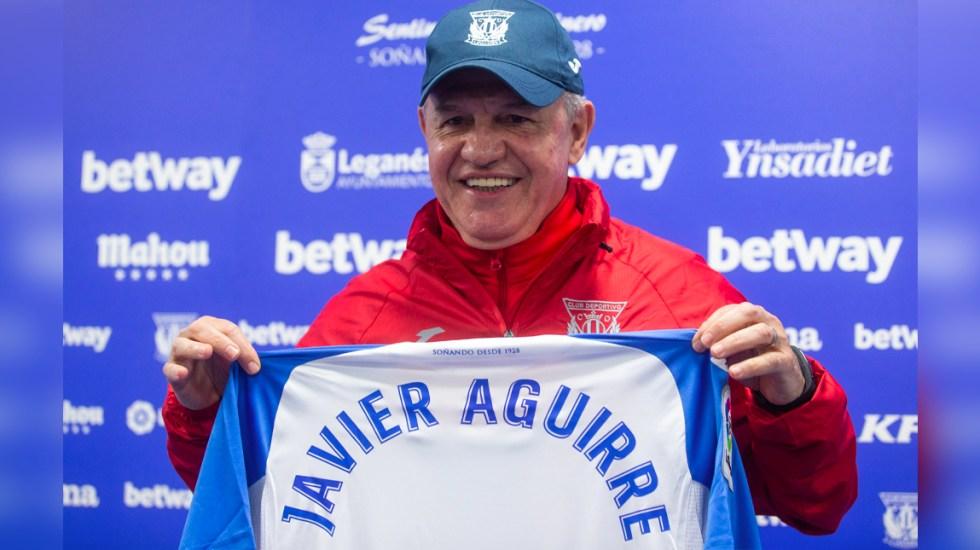 """""""No he hecho cuentas"""": Aguirre sobre los puntos que necesita el Leganés - Javier Aguirre"""