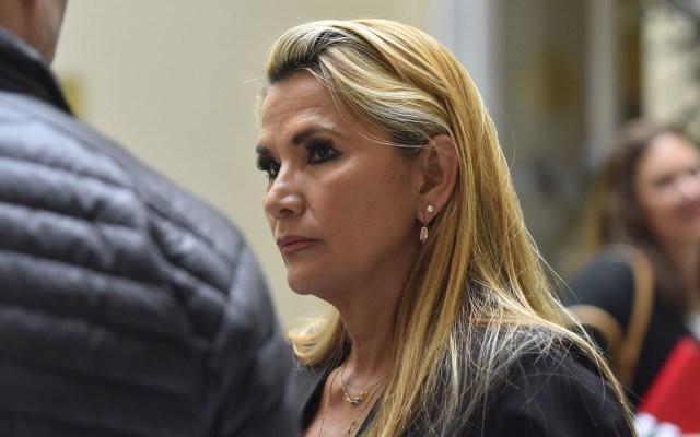 Jeanine Áñez asegura que quiere mantener relación de 'amistad' con México y España - Jeanine Áñez, presidenta interina de Bolivia. Foto de Notimex