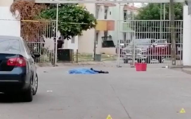 Balacera en Culiacán deja un joven muerto - Joven muerto en Culiacán. Captura de pantalla / Línea Directa