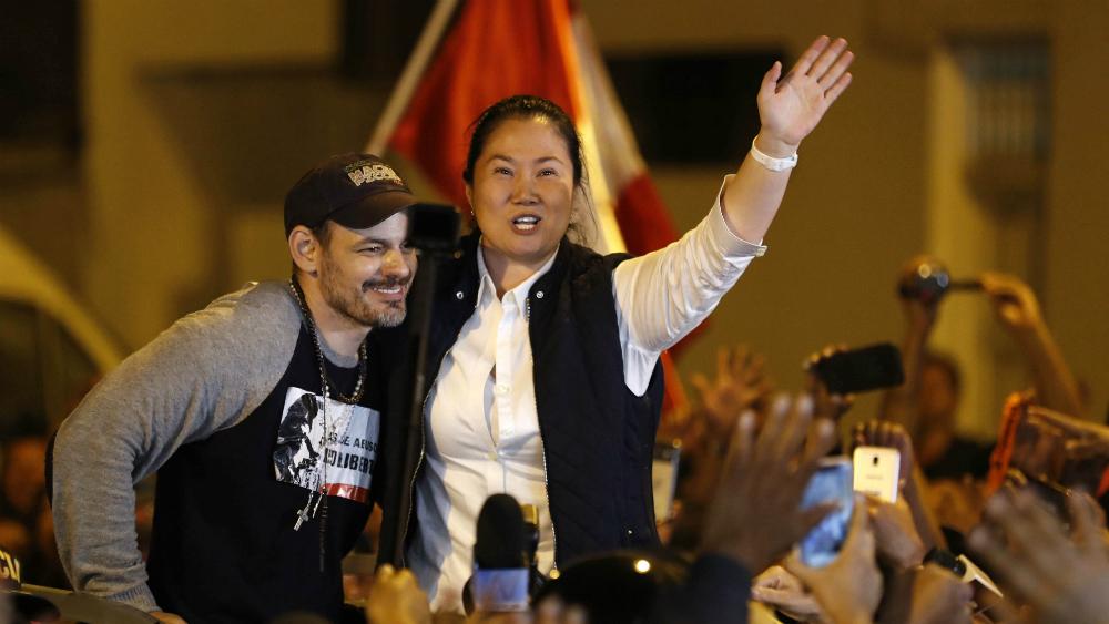 Keiko Fujimori sale libre del penal de Lima - Foto de EFE