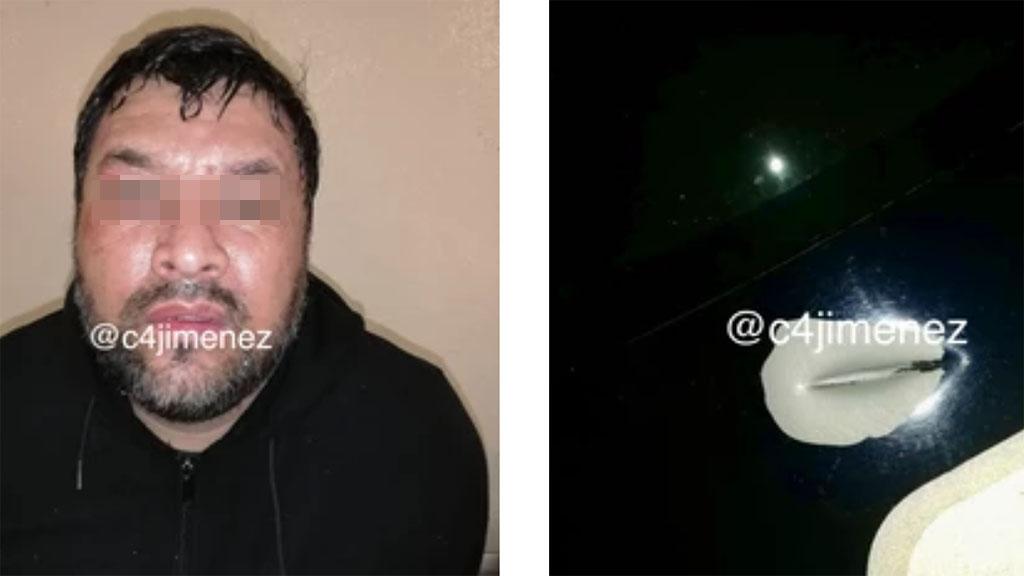 Ladrón de casas habitación detenido en Álvaro Obregón. Foto de @c4jimenez