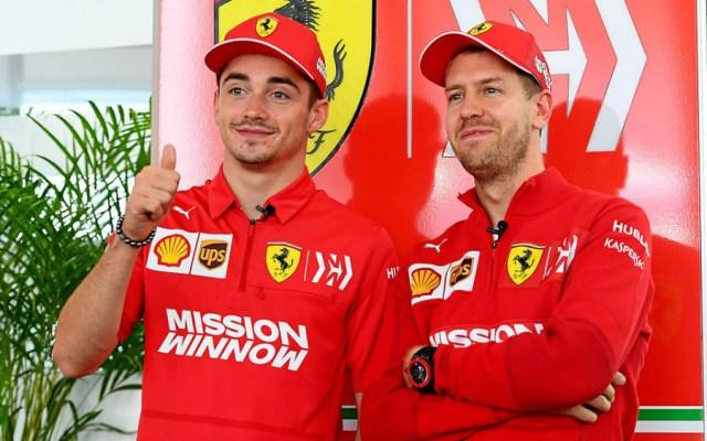 Leclerc exhorta a Vettel a ser menos agresivos - Foto de Scuderia Ferrari