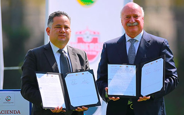 Liga MX y UIF firman convenio de colaboración en favor de la transparencia - Foto de Liga MX
