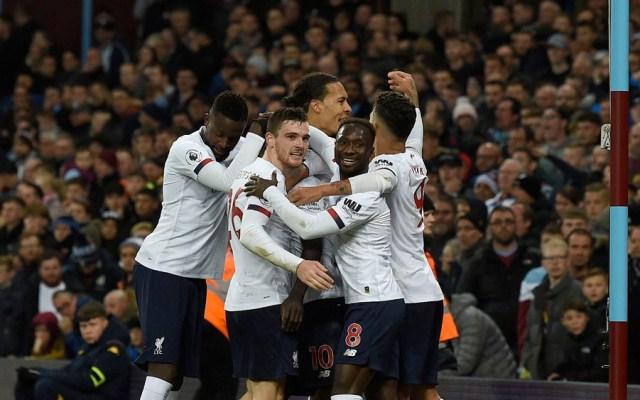 Liverpool remonta contra el Aston Villa y se mantiene invicto - Liverpool Aston Villa