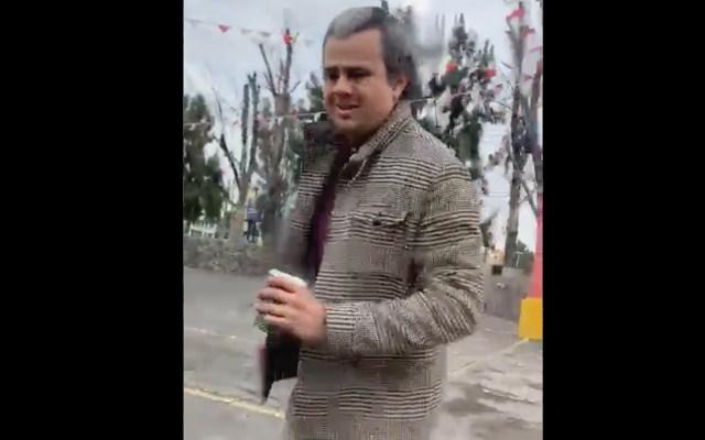 #Video Sujeto agrede a joven y le arroja café en Guadalajara - guadalajara, café