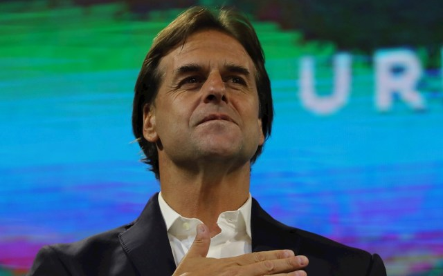 Luis Lacalle Pou será el próximo presidente de Uruguay - Luis Lacalle Pou, del opositor Partido Nacional (PN, centroderecha). Foto de EFE/ Raúl Martínez.