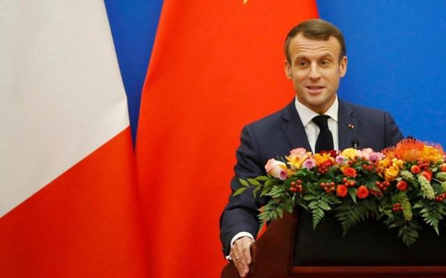"""Macron afirma que la UE está """"al borde del precipicio"""" - Emmanuel Macron"""
