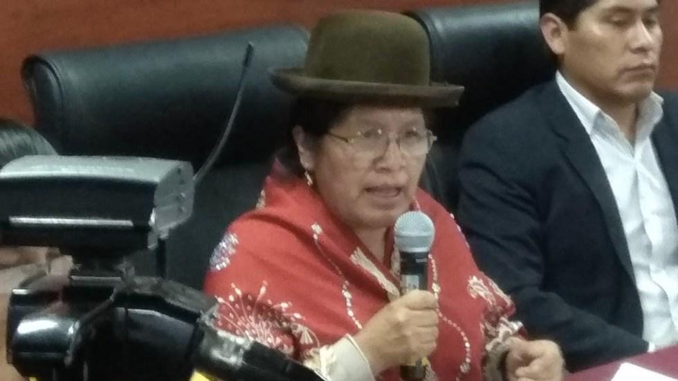 Detienen a expresidenta del Tribunal Supremo Electoral de Bolivia - María Eugenia Choque Quispe TSE Bolivia
