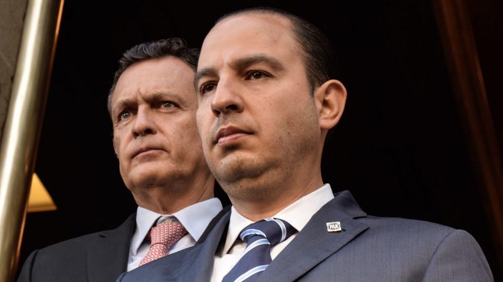 PAN acusa al Gobierno Federal de querer desaparecer autonomía de CNDH - Marko Cortés, dirigente nacional del PAN. Foto de Notimex