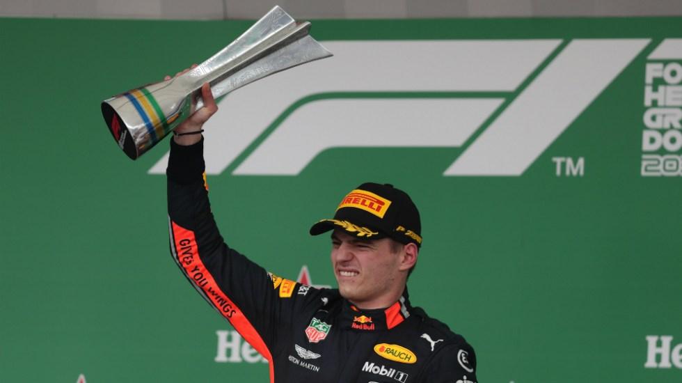 Max Verstappen gana el Gran Premio de Brasil - Foto de EFE