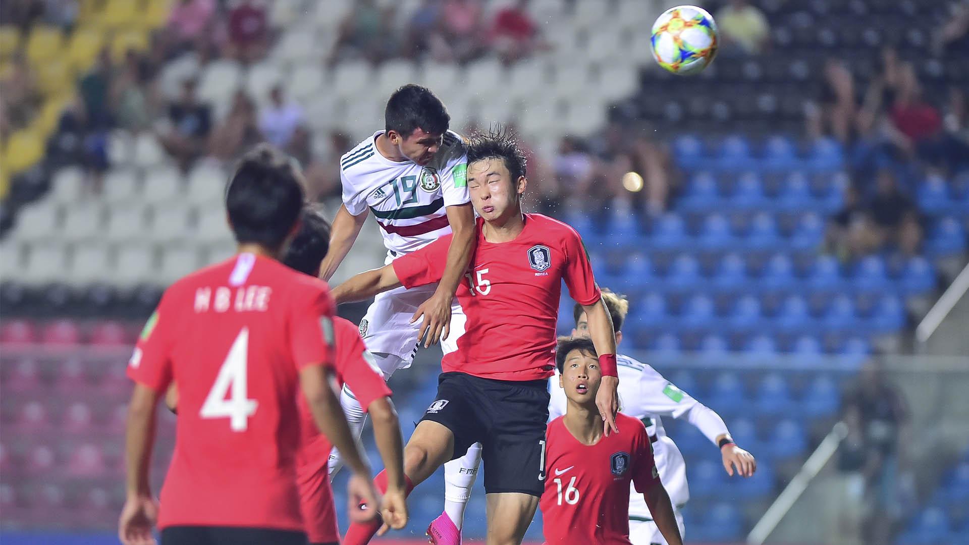 México Sub 17 Corea del sur partido