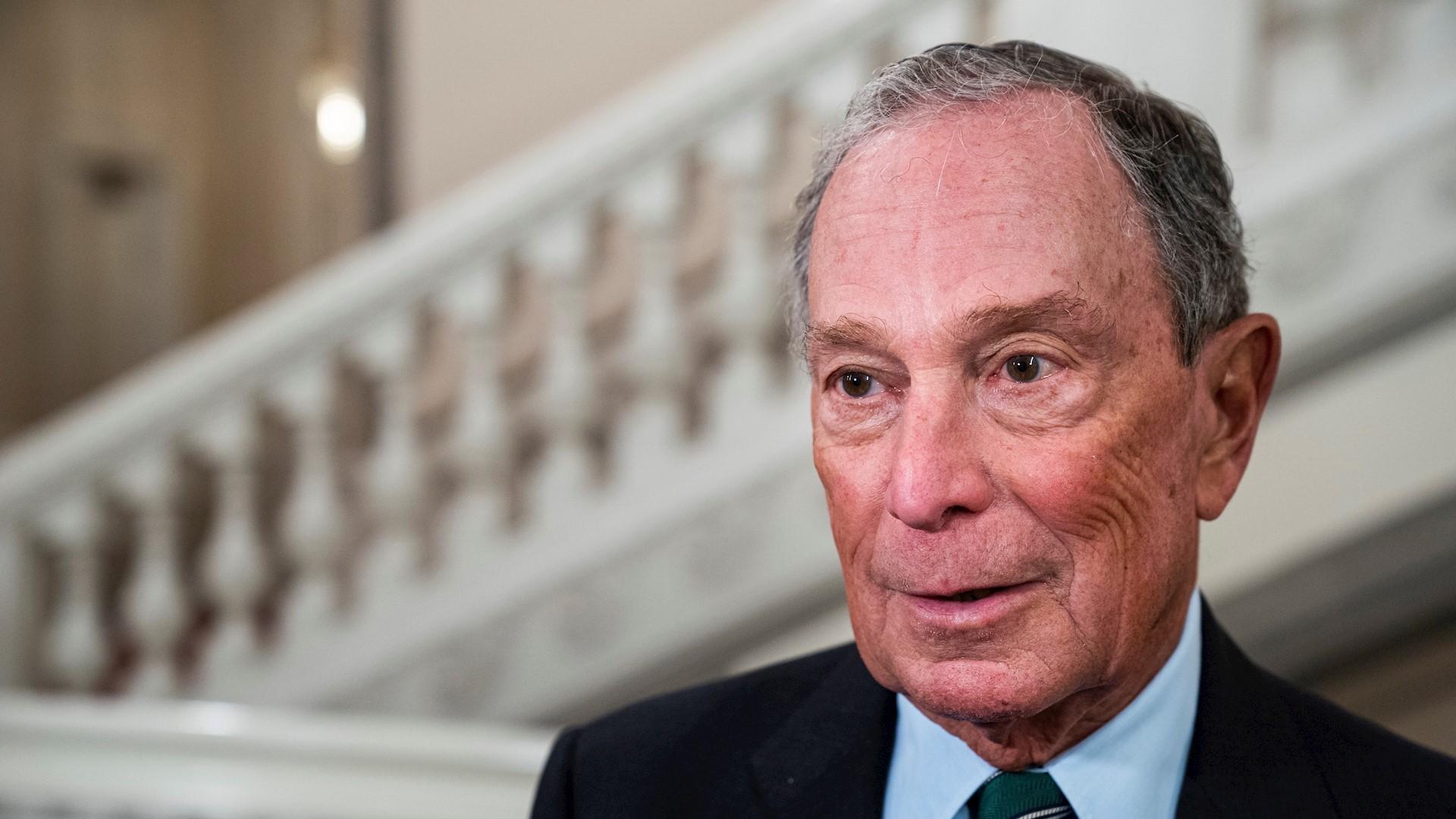 El magnate Bloomberg se suma a la pugna por la candidatura demócrata