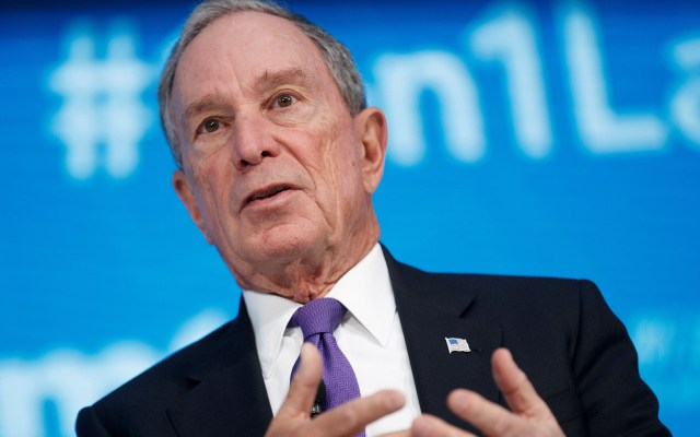 Bloomberg se prepararía para la Presidencia de EE.UU., según NYT - Michael Bloomberg. Foto de EFE