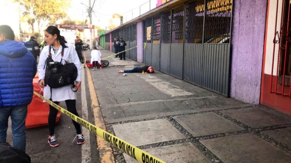 Muere mujer tras caer de moto en la GAM - Foto de @israellorenzana