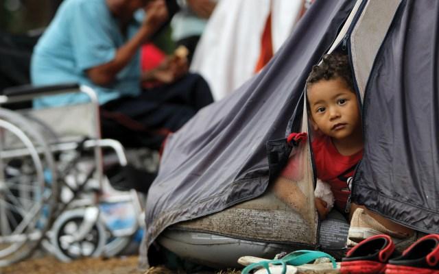 Un 40 por ciento de los desplazados internos en el mundo son menores - Foto de EFE