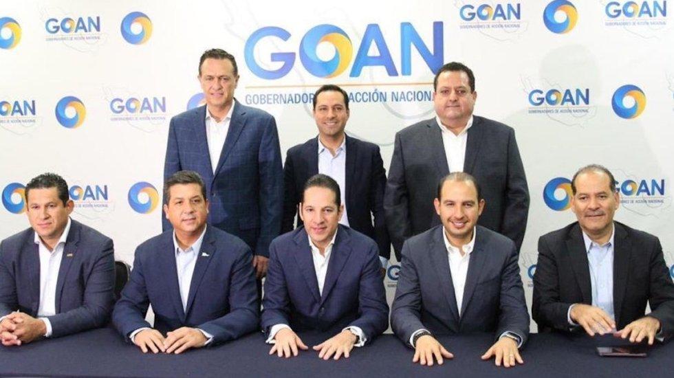 Mandatarios panistas desconocen a Rosario Piedra y no aceptarán recomendaciones de CNDH - Foto de Asociación de Gobernadores de Acción Nacional, PAN.