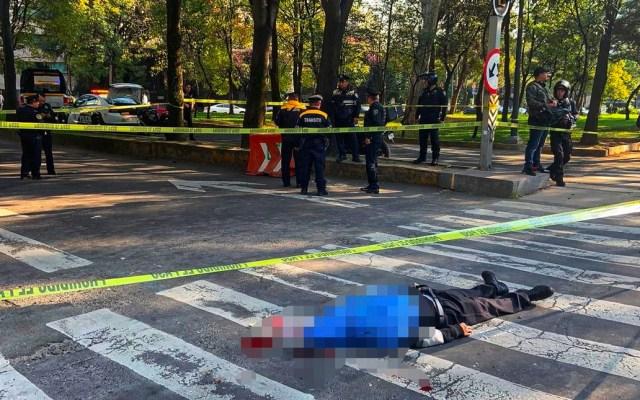 Muere persona atropellada en Paseo de la Reforma - Foto de @JerrxG13