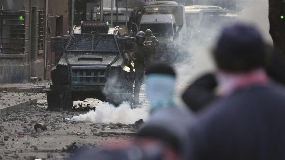 HRW denuncia violaciones de derechos humanos en Chile por abuso policial - HRW denuncia violaciones de derechos humanos en Chile por abuso policial