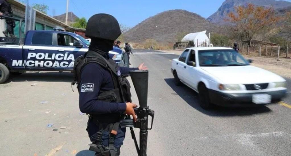 Detienen a tres hombres implicados en agresión a policías de Michoacán - Policía de Michoacán