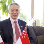 Ebrard da bienvenida a primer ministro de Singapur