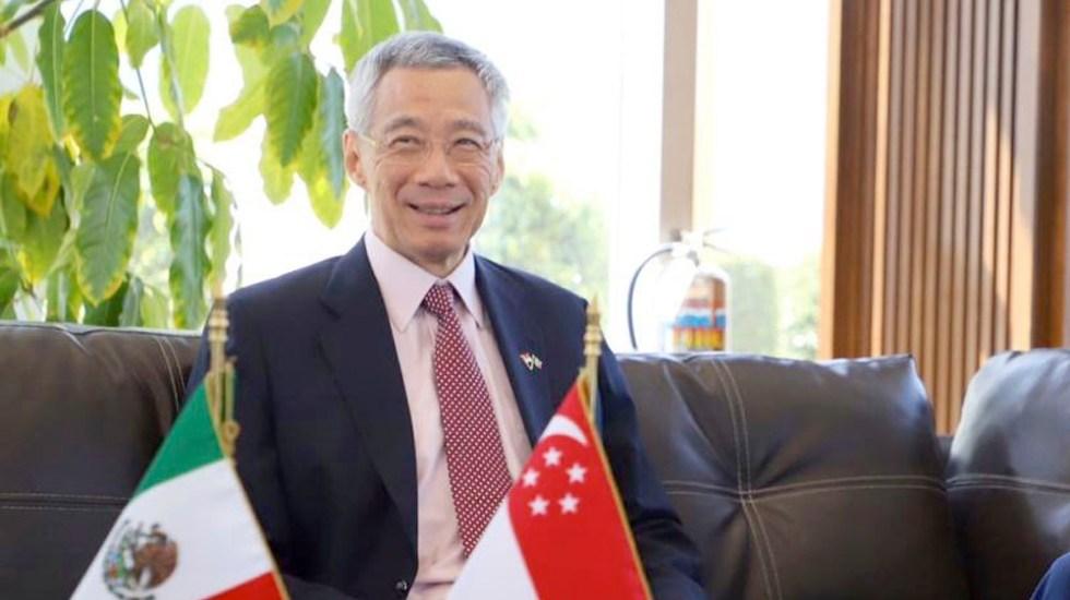 Ebrard da bienvenida a primer ministro de Singapur - Ebrard da bienvenida a primer ministro de Singapur