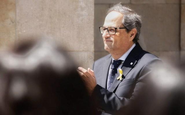 Tribunal ordena nuevo juicio contra presidente de Cataluña - Quim Torra Cataluña España