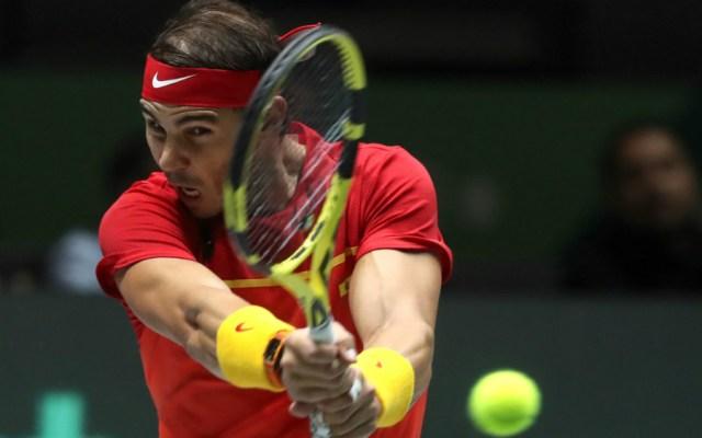 Nadal dobla y España logra las semifinales en Copa Davis - Foto de EFE