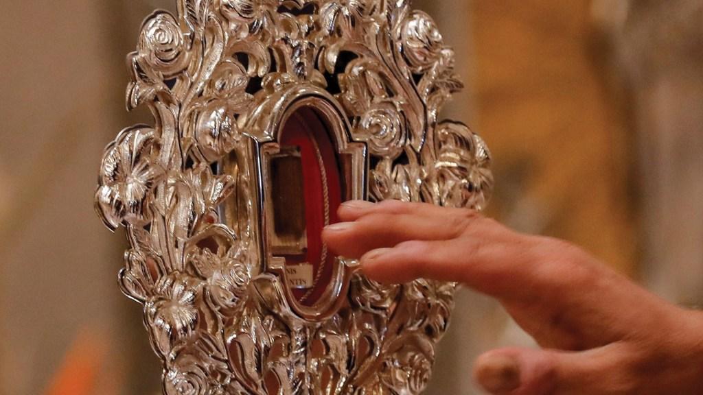 Vuelve a Tierra Santa reliquia del pesebre de Jesús - Foto de EFE