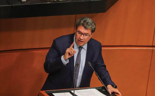 Lista 4T para crecimiento y empleo en 2020, dice Monreal - Ricardo Monreal, senador de Morena y presidente de la Jucopo. Foto de Notimex