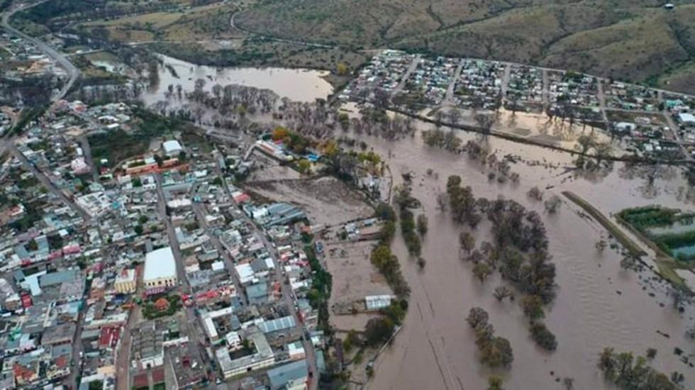 Alertan por aumento de niveles de ríos en Durango - Ríos Tepehuanes