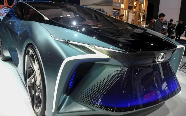 Salón del Automóvil de Los Ángeles abre con miras a la electricidad - Salón Automóvil Los Ángeles Lexus LF-30