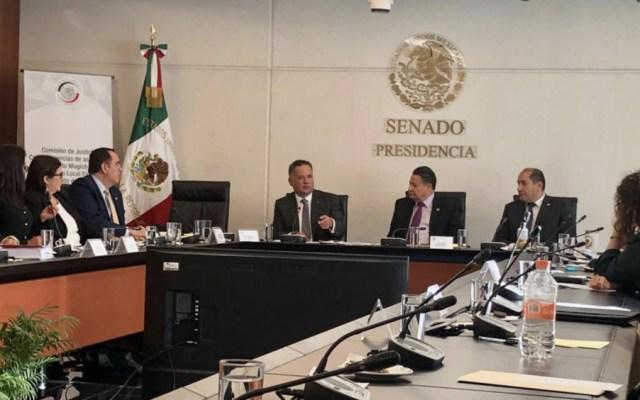 Santiago Nieto y senadores analizan iniciativas anticorrupción - Foto de @SNietoCastillo