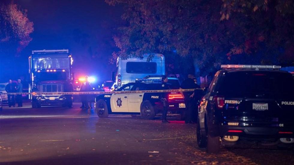 Tiroteo deja cuatro muertos y seis heridos en California - Tiroteo deja cuatro muertos en California
