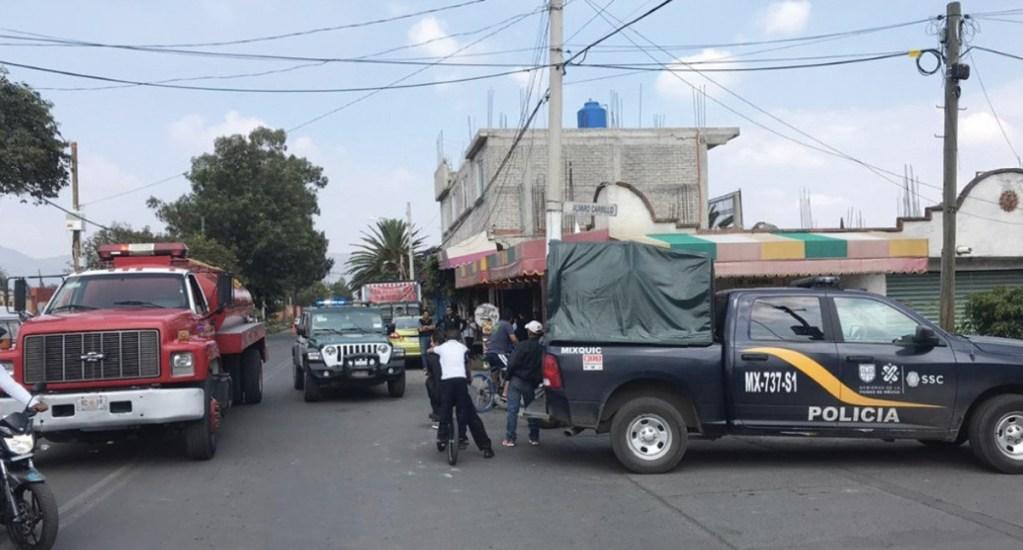 Investigan muerte de familia en Tláhuac - Foto de Noticieros Televisa