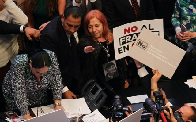 Gobernadores del PAN condenan nombramiento de nueva titular de CNDH - Toma de protesta CNDH Rosario Piedra Ibarra
