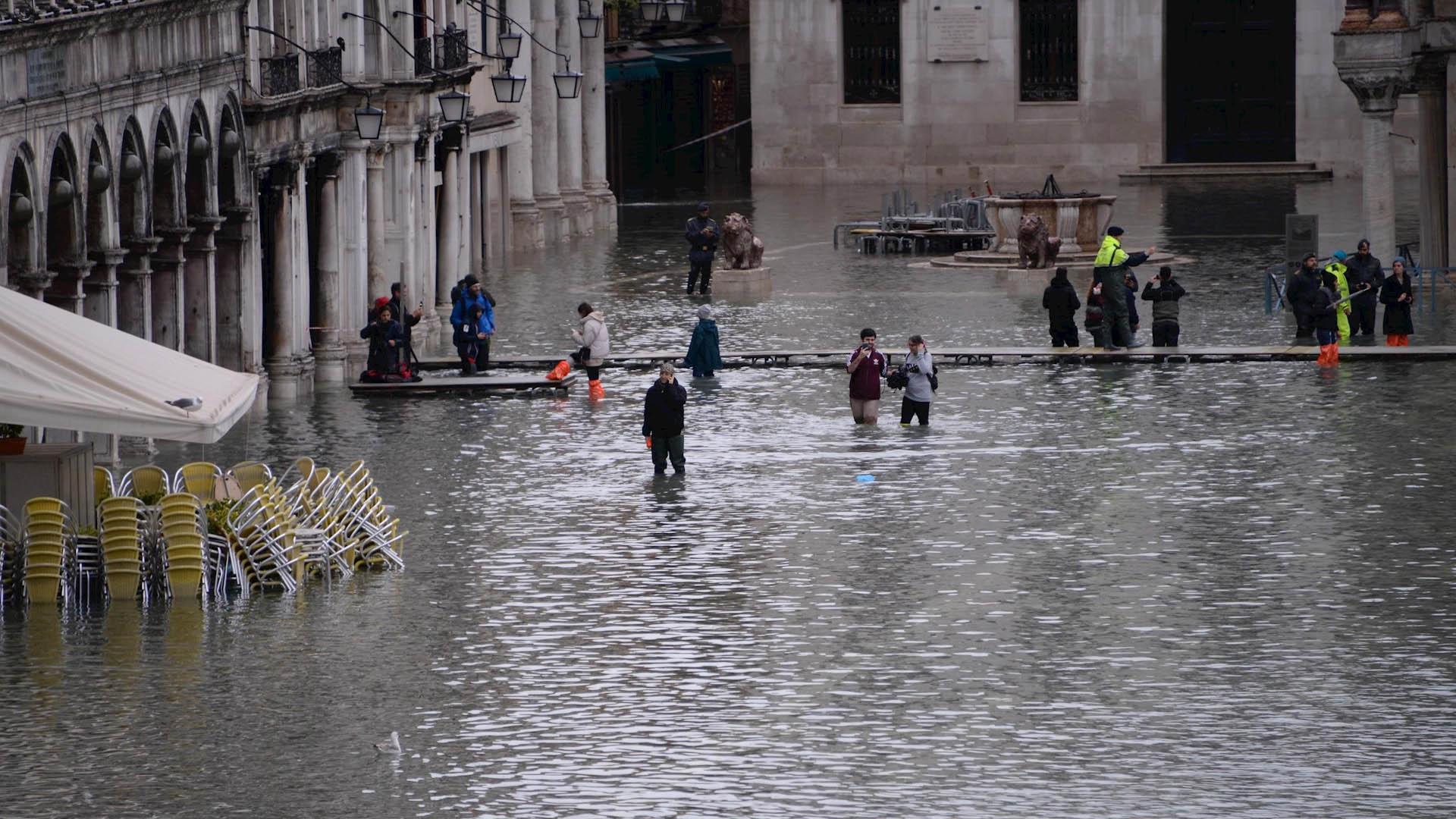 Resultado de imagen para Venecia se prepara para nueva inundación de 160 centímetros
