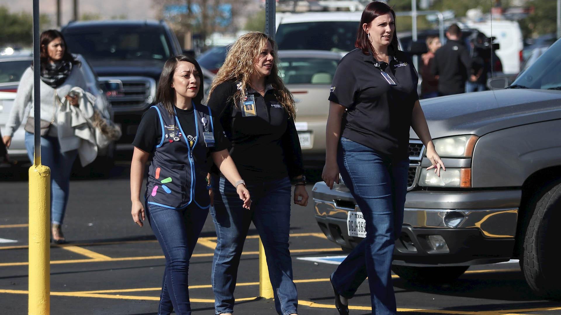 Walmart El Paso reabierto Estados Unidos Texas