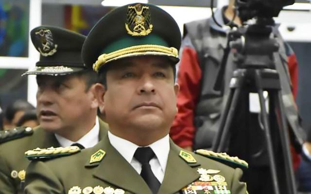 Dimite comandante de la Policía de Bolivia en medio de la crisis - Yuri Calderón. Foto de El Deber