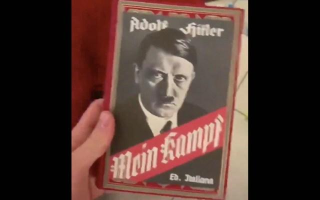 #Video Abuelo se confunde y regala manifiesto de Hitler a su nieto - Abuelo Hitler Mein Kampf 2