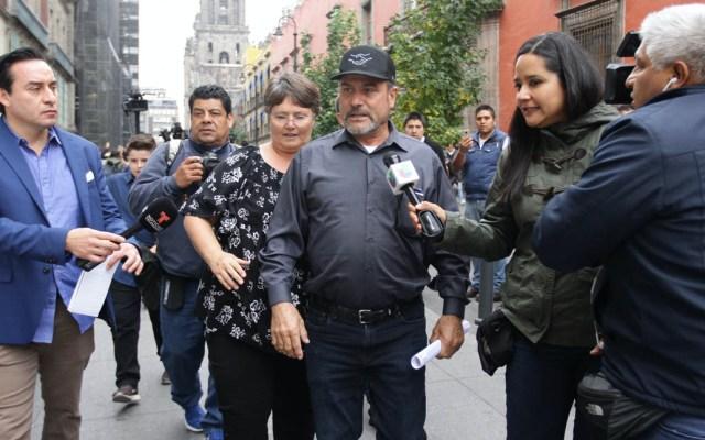 No puedo culpar a AMLO por ataque contra mi familia, sostiene Adrián LeBarón - Adrián LeBarón Ciudad de México Palacio Nacional