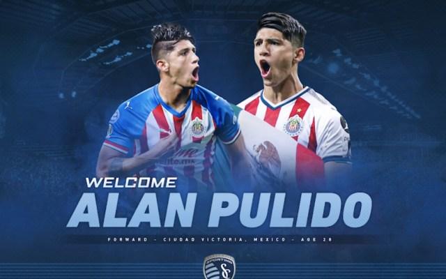 Alan Pulido jugará con el Sporting Kansas City - Foto de @SportingKC
