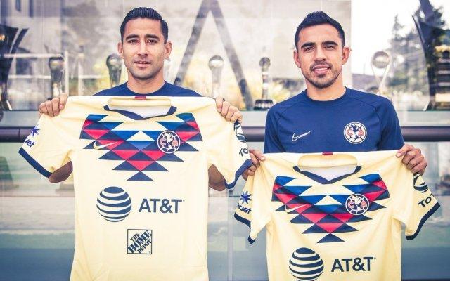 América hace oficial incorporaciones de Alonso Escoboza y Luis Fuentes - Luis Fuentes y Alonso Escoboza. Foto de @ClubAmerica