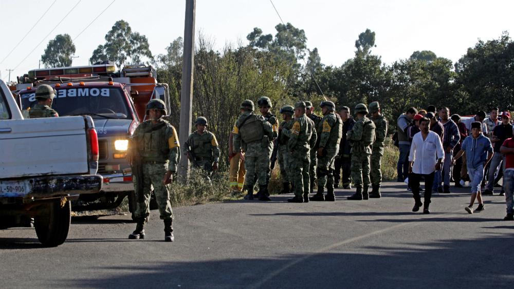 Explosión de polvorín en Amozoc, Puebla, deja cuatro muertos y cinco heridos - Foto de EFE