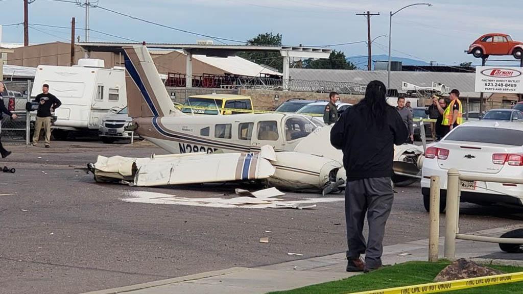 Arizona avión aterrizaje emergencia Estados Unidos