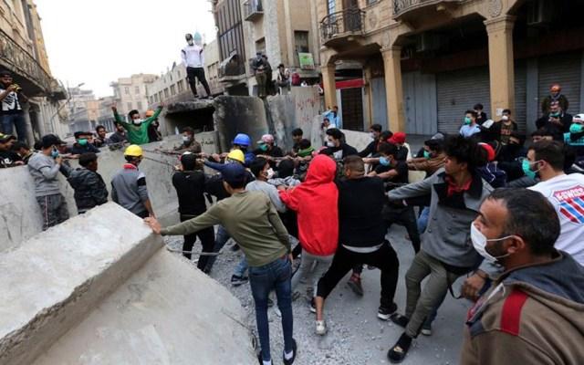 Ataque contra manifestantes deja 23 muertos en Bagdad - Ataque contra manifestantes deja 23 muertos en Bagdad