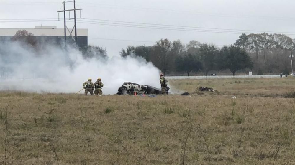 Cinco muertos tras estrellarse avión pequeño en el sur de EE.UU. - Foto de @AcadianNews