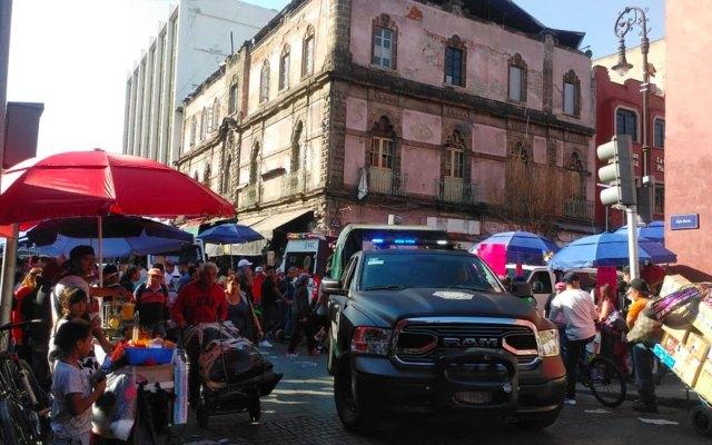 Balacera cerca de Palacio Nacional deja al menos cuatro muertos - balacera