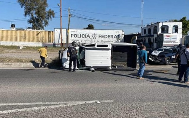 Persecución en Lagos de Moreno termina con dos detenidos y un policía muerto - Balacera Lagos de Moreno Jalisco