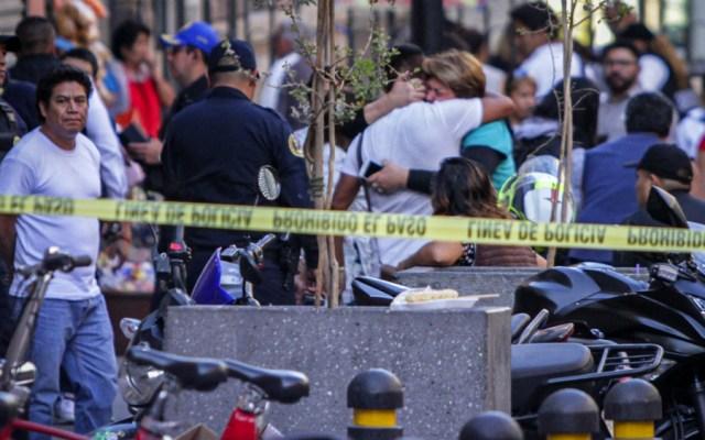 Ya son cinco los muertos tras balacera en el Centro Histórico - Foto de Notimex