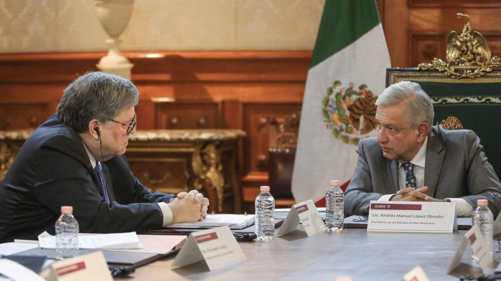 "López Obrador califica como ""buena"" la reunión con fiscal general de EE.UU. - Foto de Twitter Andrés Manuel López Obrador"